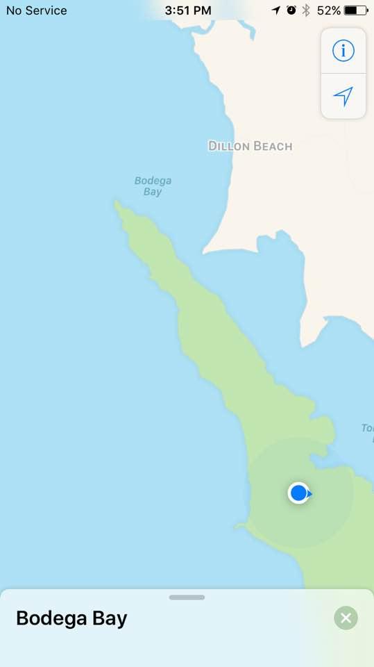 Tomales Bay peninsula