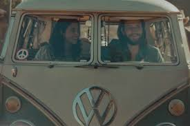 VW couple - rain commercial