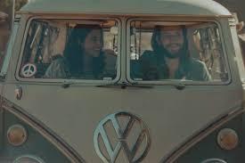 VW couple - rain commercial