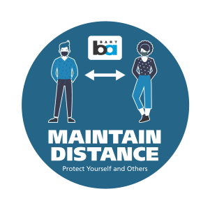 Bart distance logo