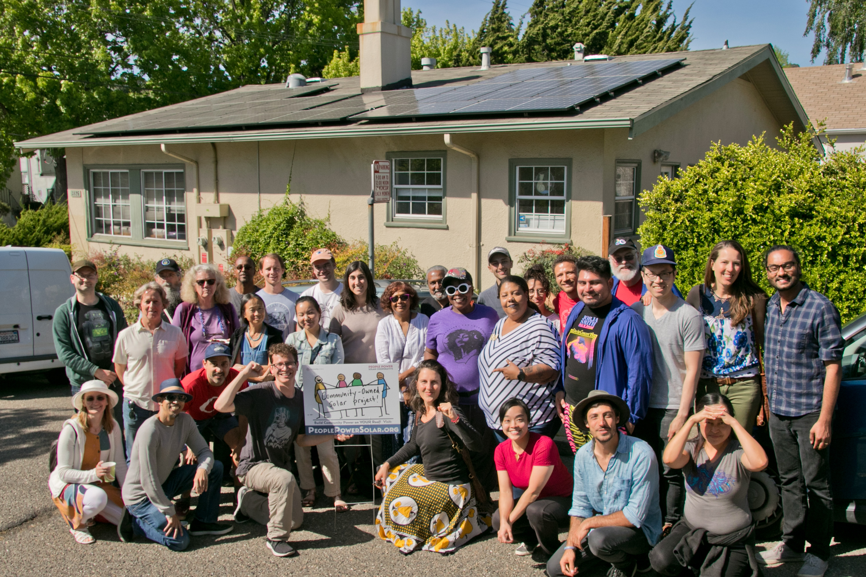 PEOPLE POWER SOLAR COOPERATIVE'S FIRST COMMUNITY-OWNED SOLAR P